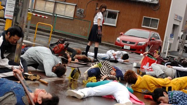 Du kødder ikke med japanske tenåringsmutanter! (Foto: Another World Entertainment)