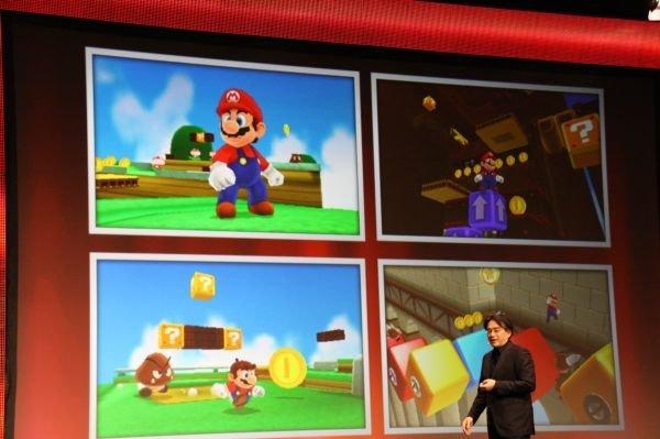 Super Mario - 3DS - Satoru Iwata - GDC 2011. (Foto: Nintendo)