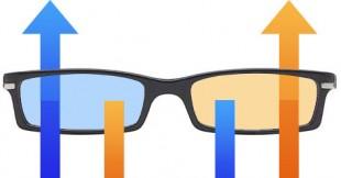 3D-brille (Illustrasjon: Martin Aas, NRK P3)