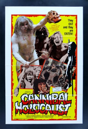 Cannibal Holocaust - poster. (Foto: Grindhouse Releasing)