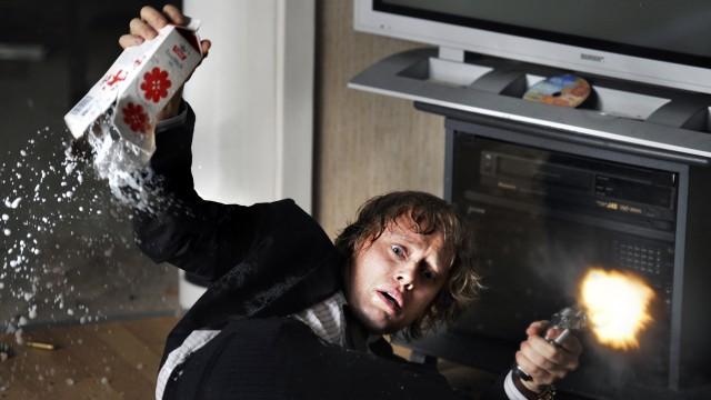 Aksel Hennie spiller hovedrollen i Hodejegerne (Foto: Nordisk Film AS).