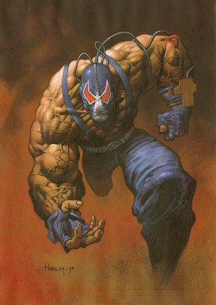 Bane ser ikke akkurat ut som et supergeni. (Foto: DC Comics).
