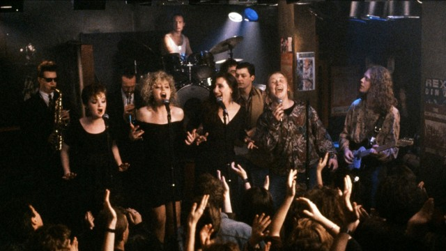 The Commitments spiller og synger soul i Dublin (Foto: SF Norge AS).