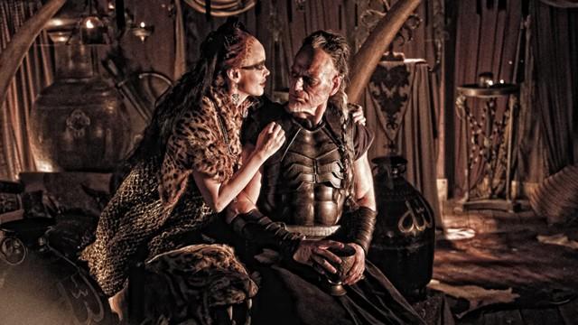 Rosel McGowan og Stephen Lang er slemminger i Conan The Barbarian (Foto: Star Media Entertainment AS).Rachel McGowan og Stephen Lang er slemminger i Conan The Barbarian (Foto: Star Media Entertainment AS).