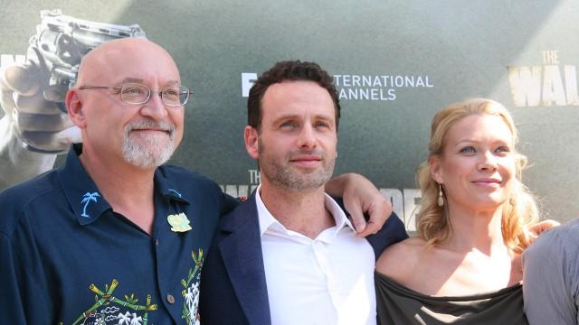 The Walking Dead-pressekonferanse på San Diego Comic-Con. (Foto: NRK p3)