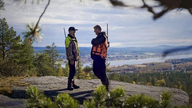Peter Stormare og Rolf Lassgård i Jegerne - Falske spor (Foto: SF Norge AS).