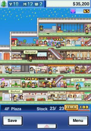 Mega Mall Story. (Foto: Kairosoft)