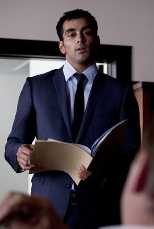 Adil Khan som Javar i Taxi. (Foto: NRK)