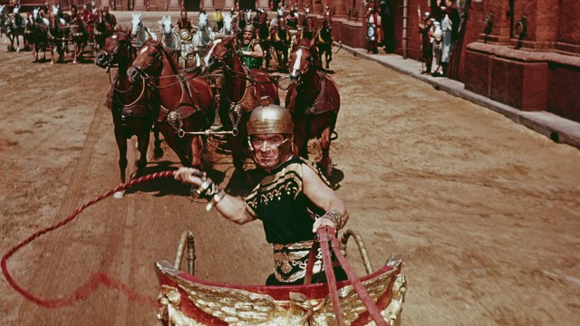 Stephen Boyd imponerer som Messala i Ben-Hur (Foto: Warner Bros Home Entertainment).