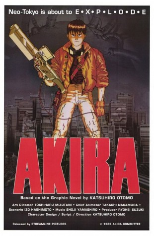 Filmposter til Akira (1988). (Foto: Bandai International)