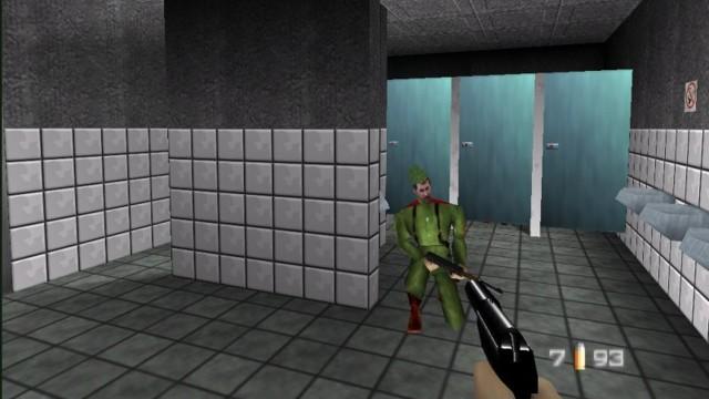Håper ikke Bond ender opp i samme toalettkø som meg. (Foto: Nintendo)