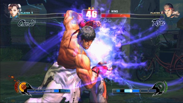 Ryu fra Street Fighter-serien har full kontroll på det spirituelle, men personligheten hans er dessverre tørt som et knekkebrød. (Foto: Capcom)