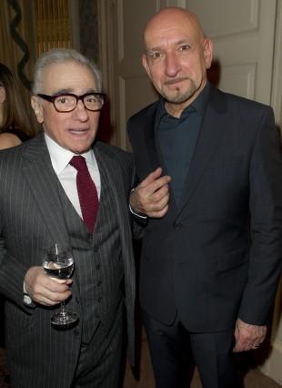 Regissør Martin Scorsese sammen med Sir Ben Kingsley (Foto: Scanpix).