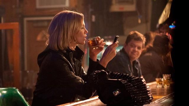 Charlize Theron og Patton Oswalt møtes i Young Adult (Foto: United International Pictures).