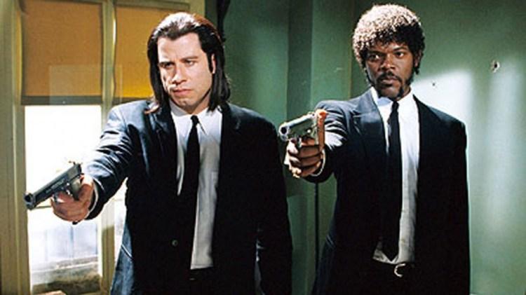 Travolta og Jackson i en ikonisk scene fra filmhistorien. (Foto: Miramax).