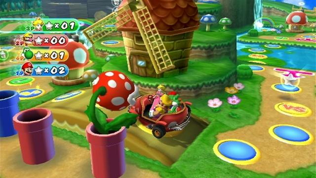Hvert brett i Mario Party 9 byr på noe unikt. (Foto: Nintendo)