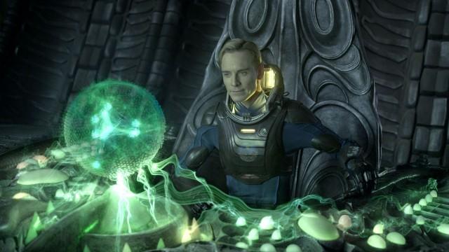Michael Fassbender som David i Prometheus (Foto: 20th Century Fox).