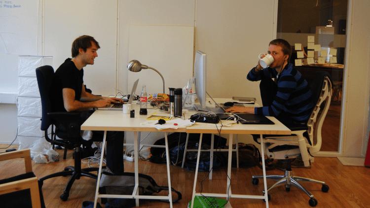 TapCat i sine kontorer