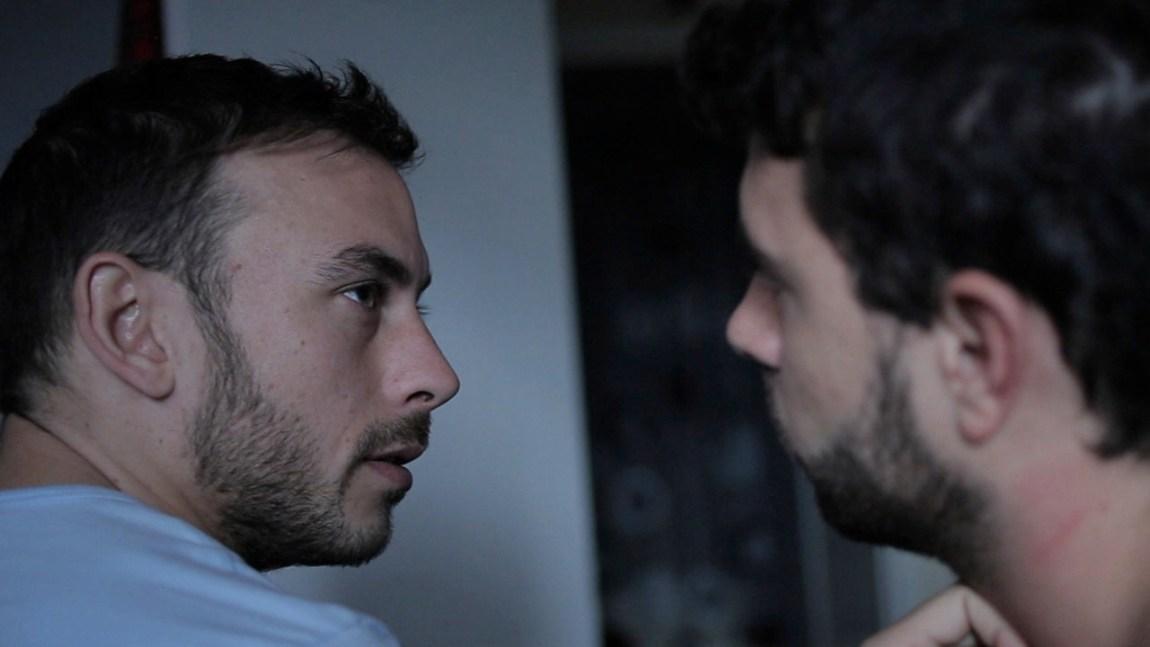 Chris New og Tom Cullen i dype samtaler i Weekend (Foto: Arthaus).