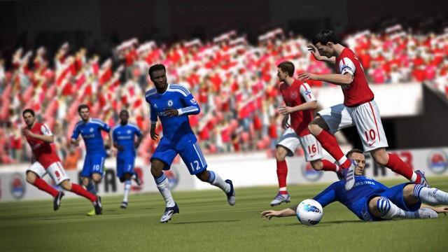 Høy realisme i FIFA 13 (Foto: Electronic Arts).