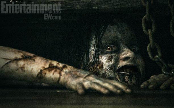 Første bilde fra «Evil Dead». (Foto: Entertainment Weekly)