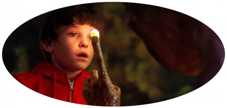 E.T.: The Extra-Terrestrial. (Foto: United International Pictures).