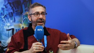 Warren Spector på Gamescom 2012. (Foto: NRK/Martin Aas)