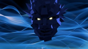 Polygon Man, Sonys tidlegare maskot, ein bitter fordums helt. (Foto: SCEE)
