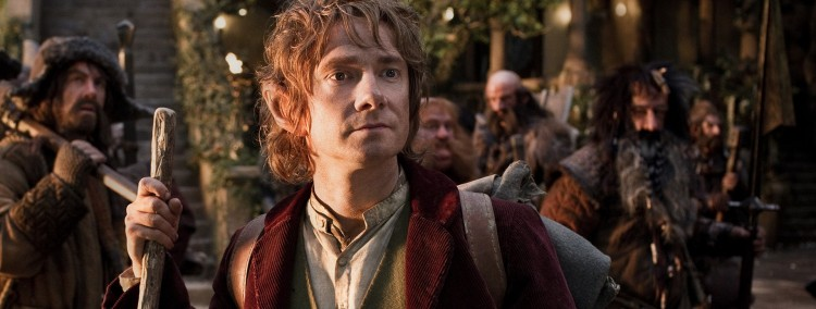 James Nesbitt, Martin Freeman, Stephen Hunter, Graham McTavish, William Kircher og Jed Brophy i Hobbiten: En uventet reise (Foto: Metro-Goldwyn-Mayer Pictures Inc. og New Line Productions, Inc./ Foto: James Fisher).