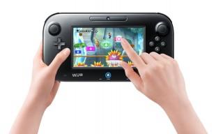 Slik brukes GamePad-kontrolleren for å hjelpe andre spillere i «New Super Mario Bros. Wii U». (Foto: Nintendo)