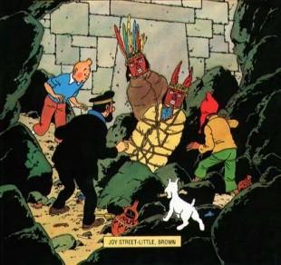 Tintin og soltempelet. (Foto: Egmont Serieforlaget)