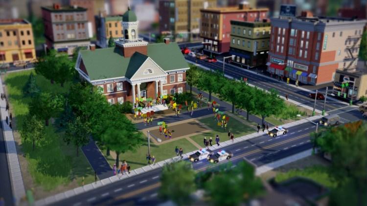 Rådhuset –maktsenteret i byen din i SimCity. (Foto: EA / Maxis)