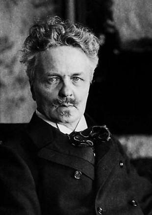 August Strindberg er Sveriges mest kjente forfatter. (Foto: Hentet fra Nationalencyklopedin, www.ne.se).