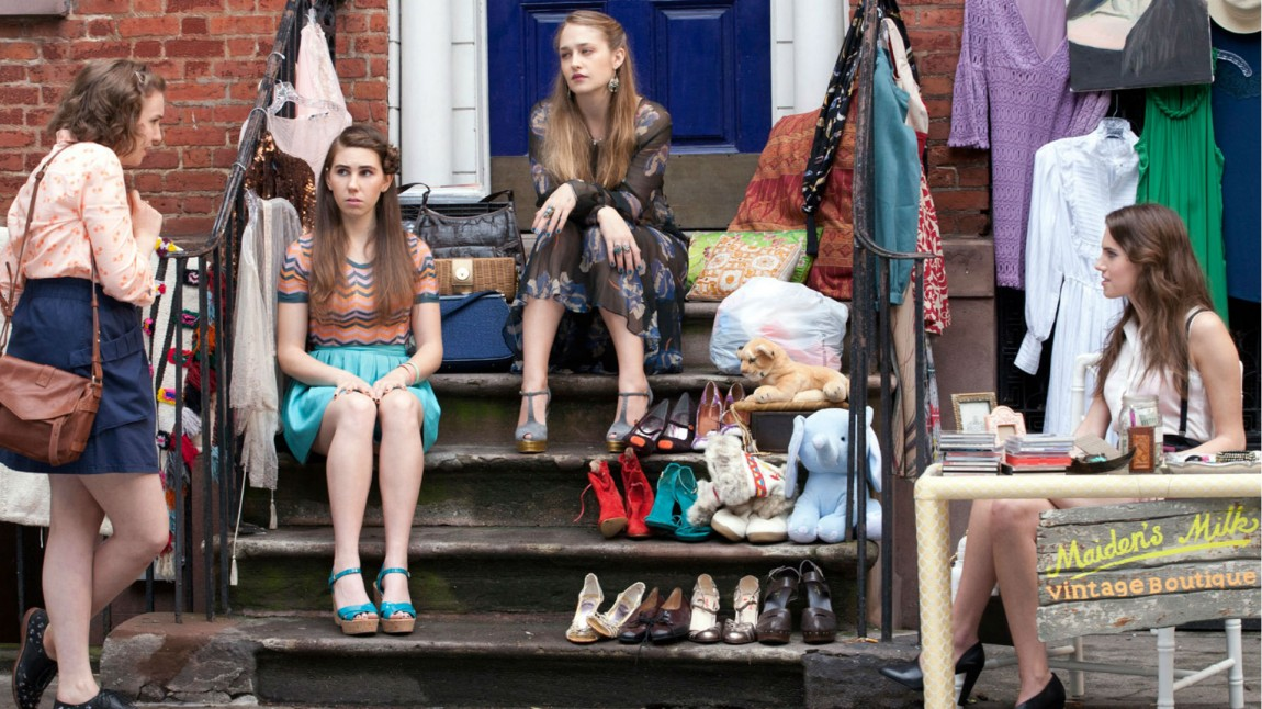 Girls, sesong 2. (Foto: HBO).
