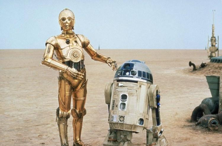 C3PO og R2-D2 i Star Wars. (Foto: Lucasfilm).