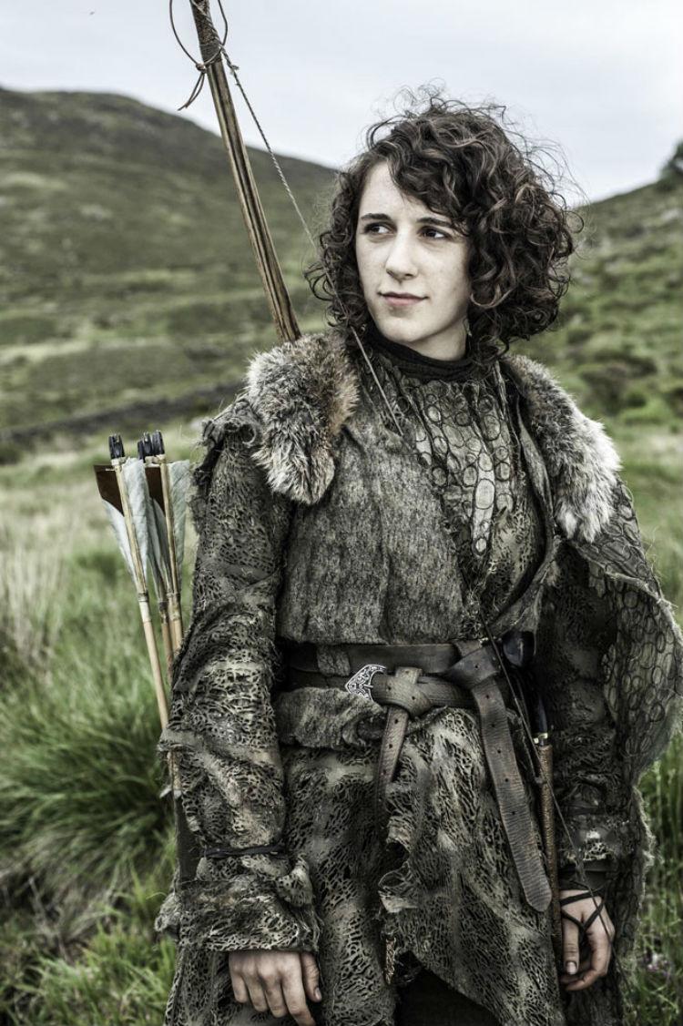 Ellie Kendrick som Meera Reed.  (Foto: Helen Sloan, HBO).