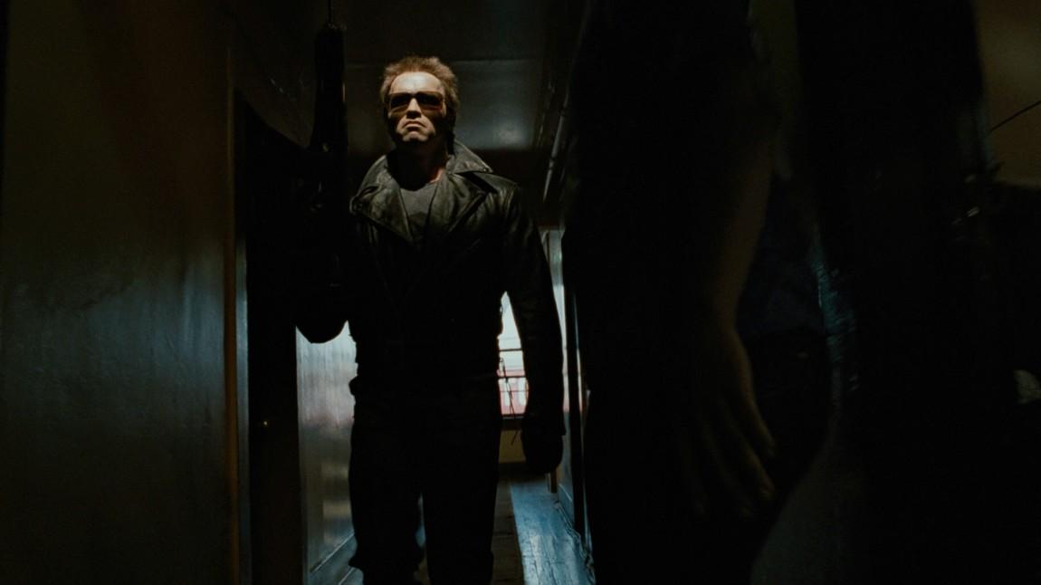 Arnold Schwarzenegger på dødelig oppdrag i The Terminator (Foto: SF Norge AS).
