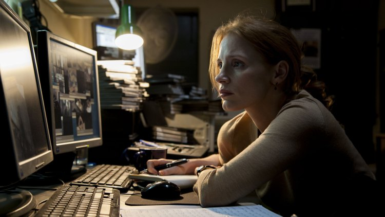 Jessica Chastain i Zero Dark Thirty (Foto: United International Pictures).
