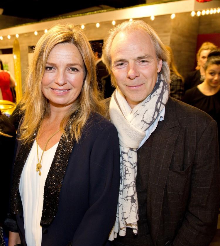 Harald Zwart var på fest med kona Veslemøy i Beverly Hills. (Foto. Tore Meek/Scanpix)