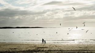 Vakre bilder fra Stokkøya i Jag etter vind (Foto: Motlys / Norsk Filmdistribusjon).