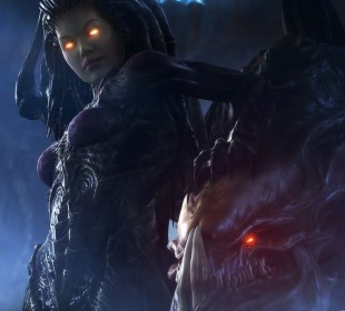 Kerrigan har en sentral rolle i «Heart of the Swarm». Foto: Blizzard)