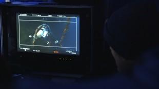 Nattfilming. (Foto: NRK)