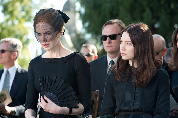 Nicole Kidman og Mia Wasikowska i «Stoker». (Foto: SF Norge AS)