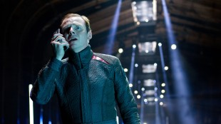 Simon Pegg får mer spilletid som Scotty i Star Trek Into Darkness (Foto: United International Pictures).