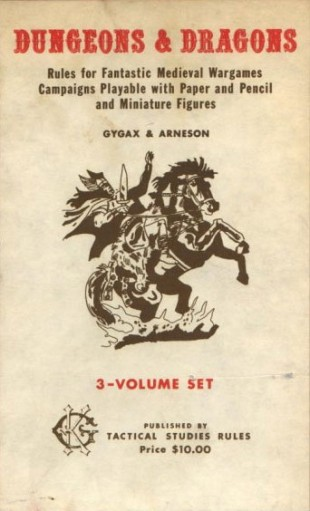 Slik så det første Dungeons and Dragons-coveret ut. (Foto: Wizards of the Coast LLC).