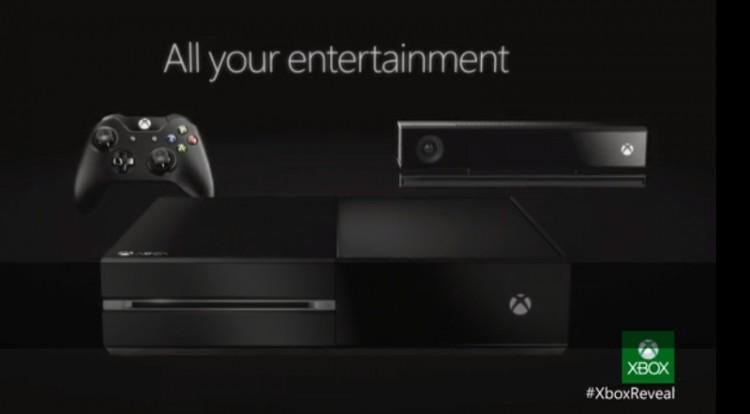 Slik er Xbox One. (Foto: Microsoft)