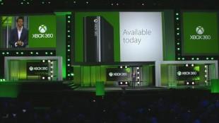 Yusuf Mehdi presenterer den nye Xbox 360 på E3. (Foto: Microsoft).