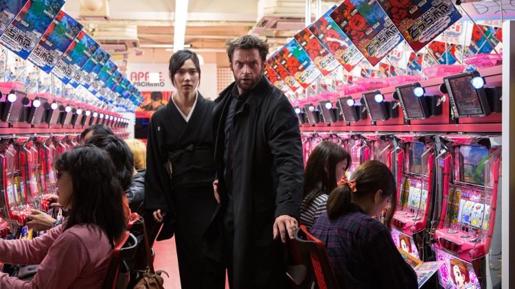 Tao Okamoto og Hugh Jackman i The Wolverine (Foto: Twentieth Century Fox Norway).