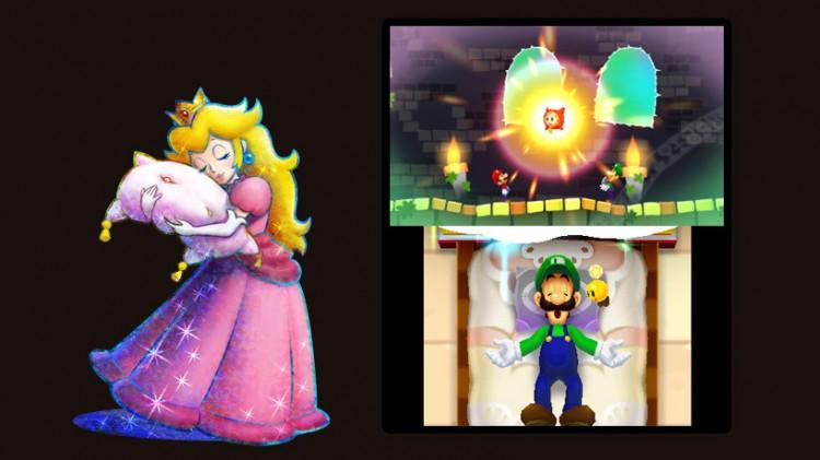 Mario & Luigi: Dream Team. (Foto: Nintendo)