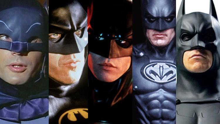 Dei tidlegare versjonane av Batman på film. (Foto: Warner Bros)